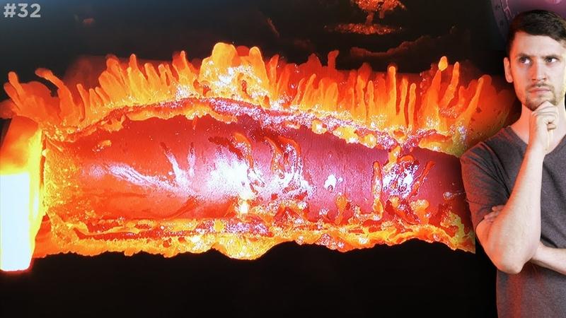 Ученые расплавили в плазме деталь спутника / Титан: новая миссия / Кольца Урана / Астрообзор 32