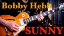 (BOBBY HEBB) - SUNNY guitar cover by Vinai T