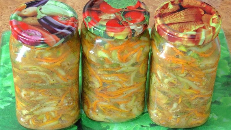 Острый салат из огурцов на зиму / Spicy cucumber salad for the winter