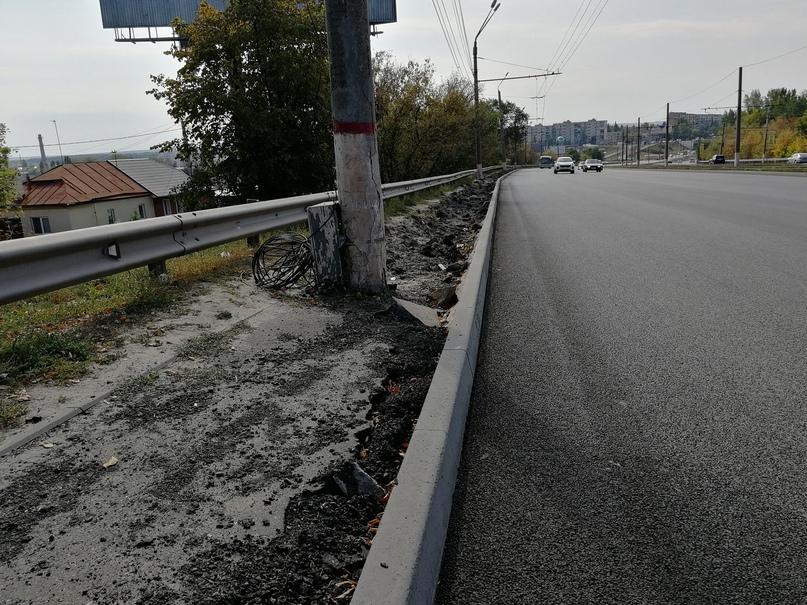 В Курске на улице Энгельса  построят тротуар