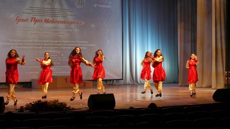 Гран при Новосибирска 79 Oriental Folk Ансамбль Гамиль эль ракаса 1 12 2018к