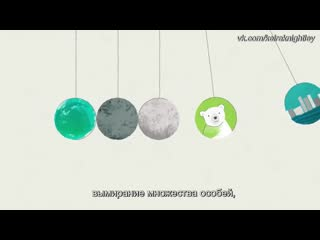 Climate change & why we should panic (субтитры)