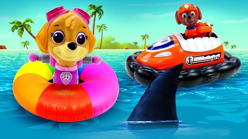 Морской патруль спасательная миссия на воде Видео для детей