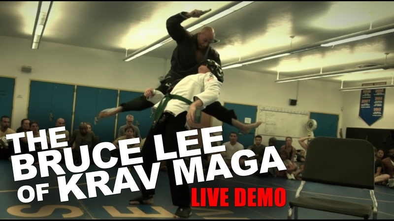The Bruce Lee of Krav Maga Roy Elghanayan s LIVE DEMO!