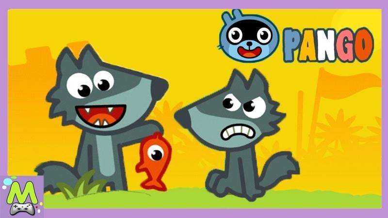 Истории Панго/Pango Storytime.Мульт Игра для Малышей.Новые Смешные Истории про Животных