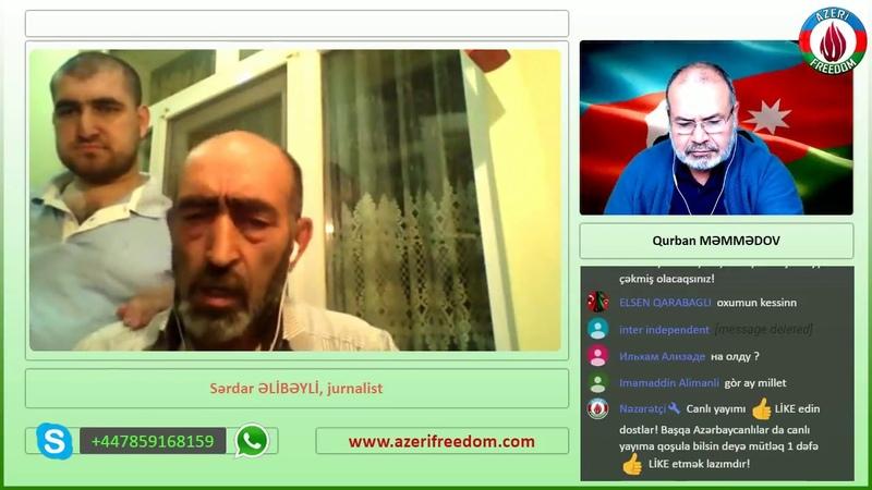 Tamerlan Qarayev özü cavab verməlidir. Sərdar Əlibəyli.