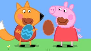 Peppa Pig English Episodes 4K | Chocolate Egg Hunt | 1 HOUR Easter Special  Peppa Pig Official