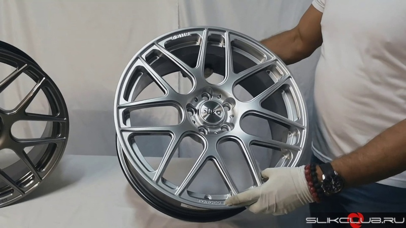 Кованые диски Слик L723 GM L815 HPB || Slik forged wheels L723 GM L815 HPB