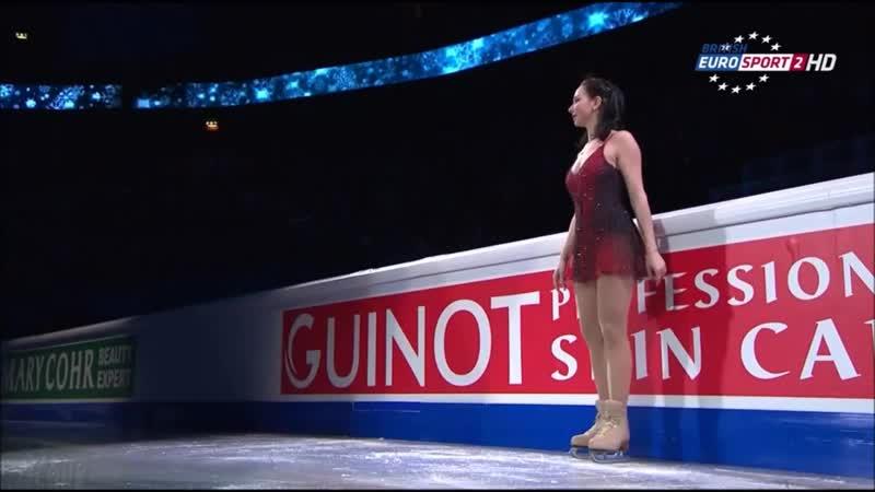 Елизавета Туктамышева - показательное выступление. Чемпионат Европы 2015