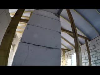 КРЫША РАЗДАВИЛА стены дома из ГАЗОБЕТОНА! ПРИЧИНЫ ОШИБКИ