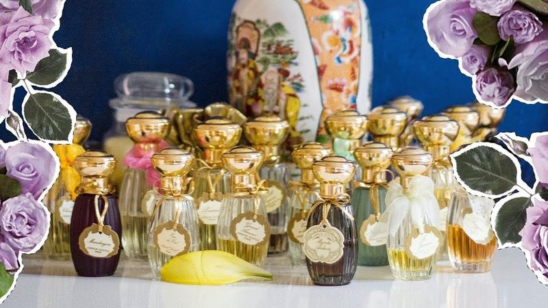 Всё о моей коллекции Annick Goutal Paris | Обзор 26 ароматов Анник Гуталь | Anisia Beauty