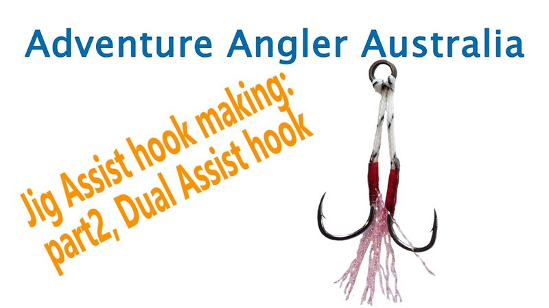 How to Make: Twin assist hook, Dual assist hook, jigging hook, micro jigging