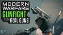 Modern Warfare Gunfight Mode with Real Guns