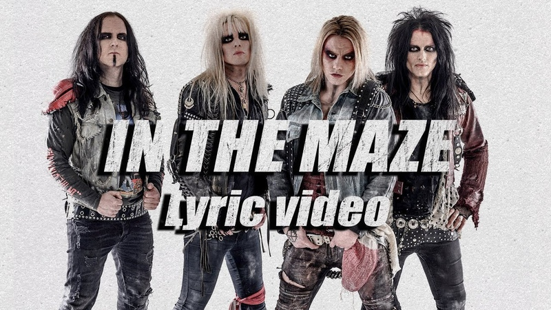 CRASHDÏET In The Maze Lyric video sleazemetal crashdiet swedishmetal
