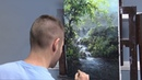 Sunlit Waterfall Paint with Kevin ®