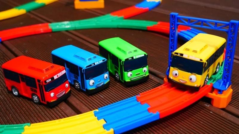 Автобусы Тайо и детская Железная дорога Мультики для детей