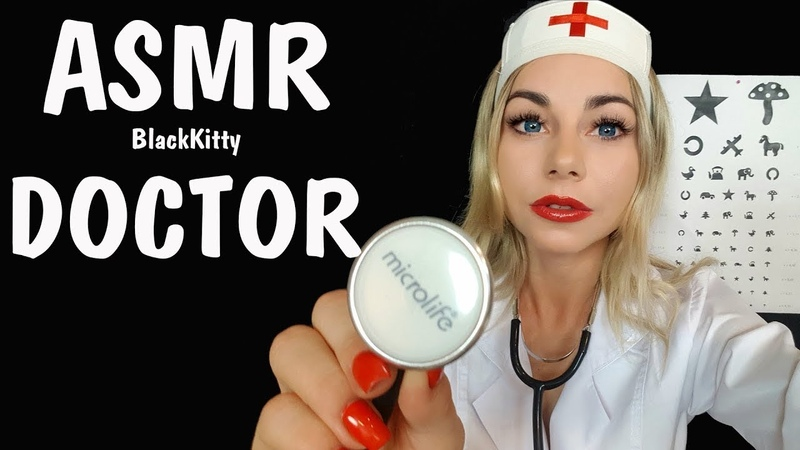 АСМР Медицинский осмотр 🚑 Ролевая игра Врач окулист 👩⚕️   ASMR Roleplay Doctor Examination 💊💉🎧
