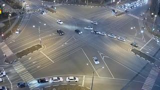 ДТП с откатившимся автомобилем