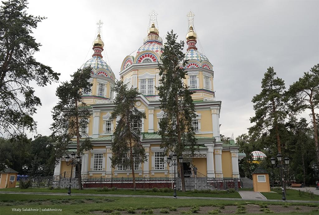 Кафедральный собор в Алматы, Парк 28 панфиловцев 2019