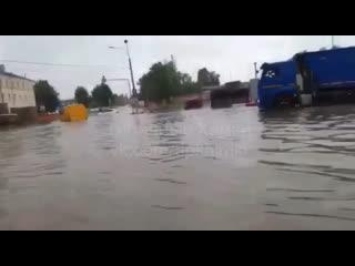 Потоп в Химках (Шереметьево)