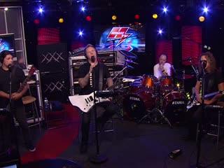 MetallicA - The Howard Stern TV Show  (Part 2)