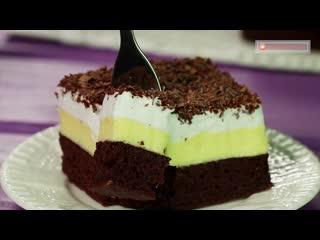 Красивый, оригинальный и нежный десерт! Необычайно вкусное Фальшивое мороженое