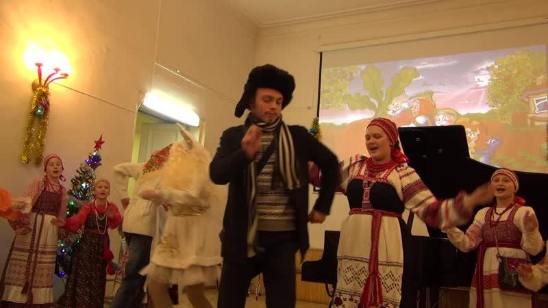 Детская музыкальная школа им. С.М. Старикова. Новогодний концерт