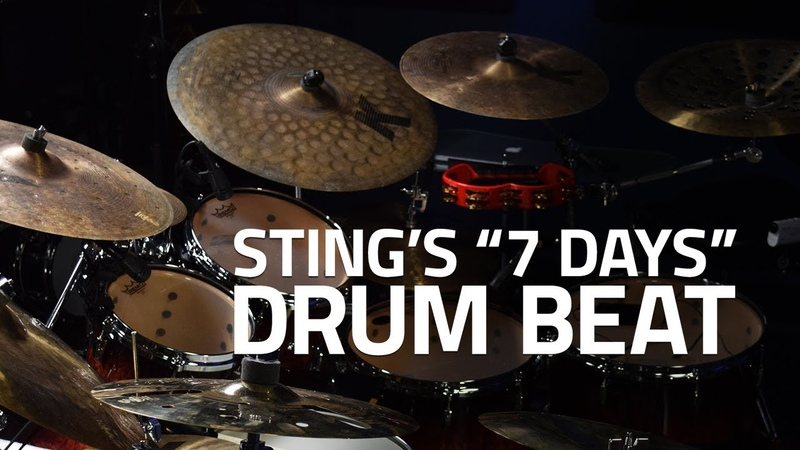 How To Play Sting's 7 Days Drum Beat - Drum Lesson (Drumeo)