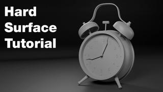 ZBrush Hard Surface Tutorial - Creating an Alarm Clock