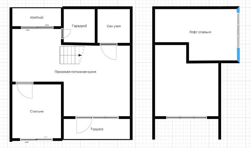 Представляем проект дома площадью 64кв.м., изображение №2