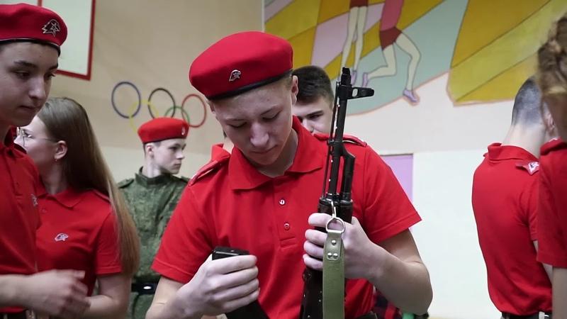 19 октября 2019 г. в школе №2 (г. Кольчугино) состоялся VI районный слет юнармейцев