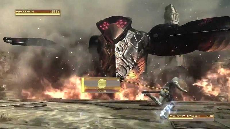 Metal Gear Rising MG Ray Boss Fight S Rank HD