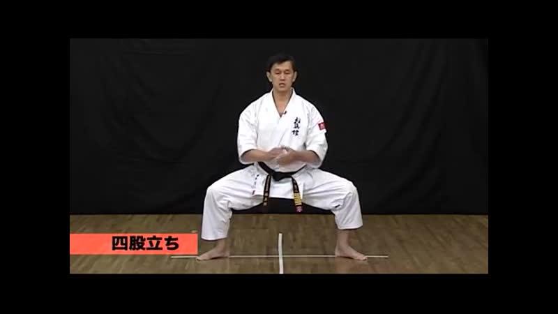 01 Kihon Bo Стойки