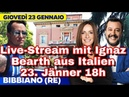 Live aus ITALIEN Bibbiano mit MATTEO SALVINI LEGA 💙🇮🇹