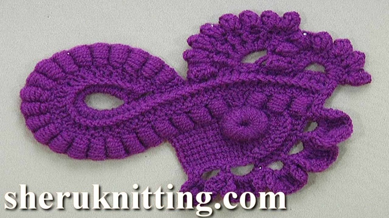 How to Crochet a Scrumble Tutorial 27 Freeform