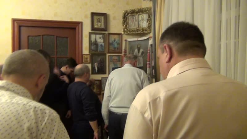 21.11.2019 № - Борис пишет записку. Финальная молитва