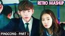 💗 Pinocchio Love Triangle - Part 1 | Korean Mix Hindi Songs | Simmering Senses 💗