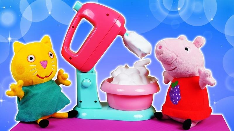 Peppa prépare des meringues Vidéos en français avec la famille et les amis de Peppa Pig