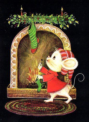 картинки с советских открыток мыши мышки чаще всего