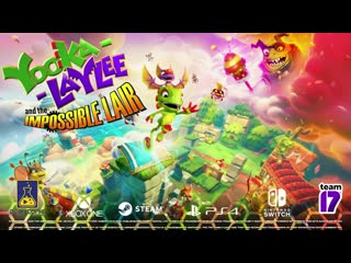 Yooka-Laylee and the Impossible Lair - Alternate Level States Trailer
