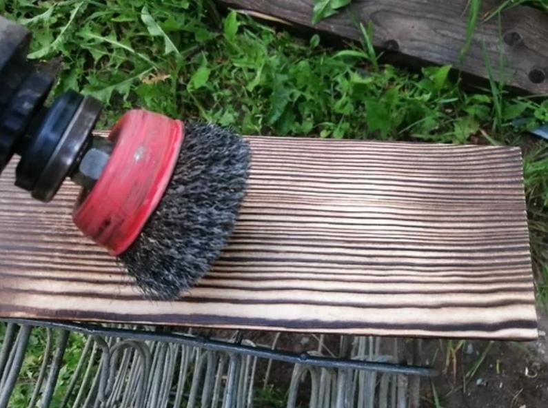 Браширование древесины, простой способ, изображение №5