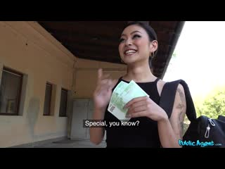 PublicAgent - Japanese beauty fucks for cash / Erik Everhard, Rae Lil Black