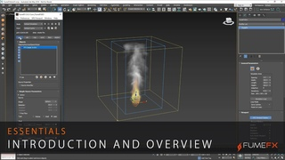 FumeFX for 3ds Max Essentials Part 1 - Introduction and Overview