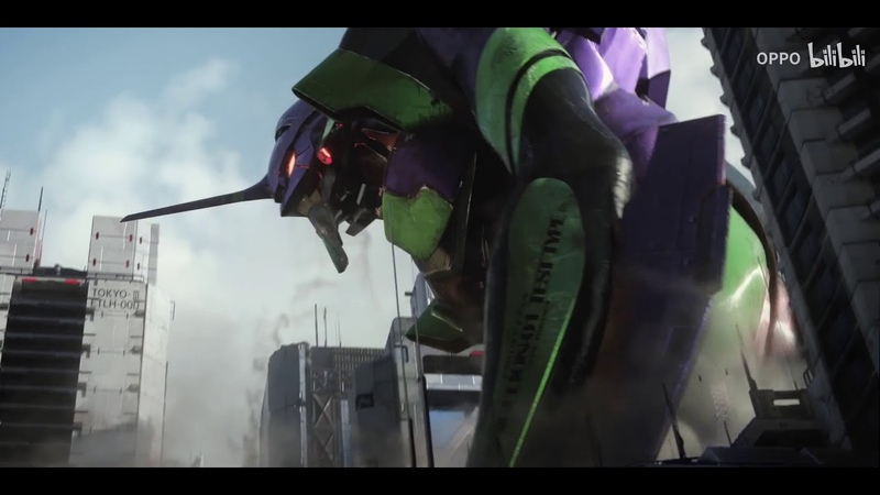 OPPO Ace2 x EVA smartphone Chinese commercial Evangelion