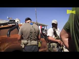 Российские наемники охраняют иностранных журналистов в Сирии