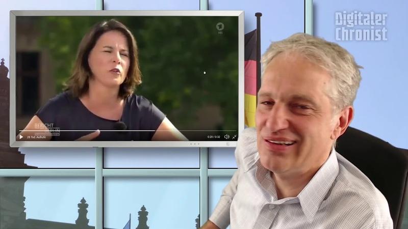 Annalena Baerbock zeigt ihre Kompetenz Student will 77 000Euro zurück