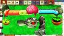 Gatling Pea vs Snow Pea vs Dr Zomboss vs Giga gargantuar Fight