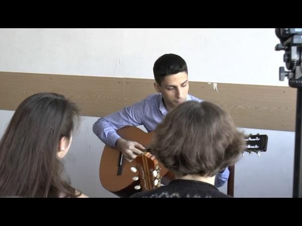 Нечаева Надежда, Галстян Арсен, Хоперскова Полина и Ялышева Софья