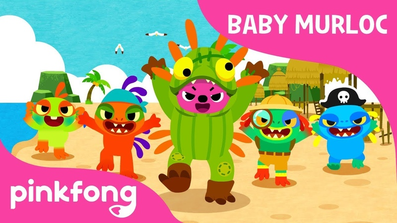 Baby Murloc | World of Warcraft | Blizzard Pinkfong | Pinkfong Songs for Children