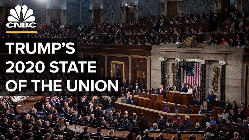 President Trump delivers the 2020 State of the Union address 2 4 2020